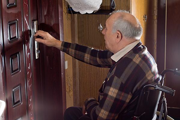 מערכת נעילה lock 8200 לשירותי סיעוד